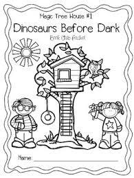 Magic Tree House 1 Dinosaurs Before Dark Book Club Packet