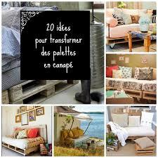 lit transformé en canapé home and garden 20 idées pour transformer des palettes en canapé