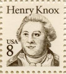 Henry Knox Postage Stamp