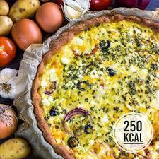 herzhafte gemüse quiche kalorienarm und vegetarisch