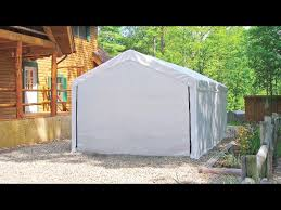 Vinyl Storage Sheds Menards by Carports U0026 Shelters At Menards