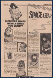 100 Space Articles For Kids My Star Trek Scrapbook The Monster Times 2 Gear