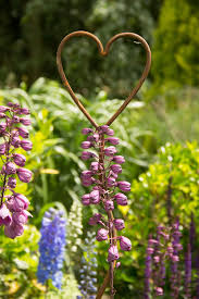 Heart Decorative Plant Support