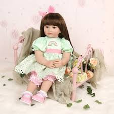 11inch African Reborn Baby Doll Silicone Lifelike Baby Play House