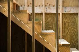 les dimensions d un escalier droit en bois
