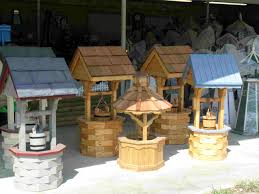 how to build a round wooden wishing well google search