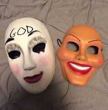Purge Mask Halloween Spirit by The Freak Purge Mask On The Left On The Hunt