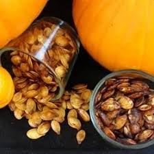 Sprout Pumpkin Seeds Recipe by Spiced Maple Pumpkin Seeds Recipe Allrecipes Com