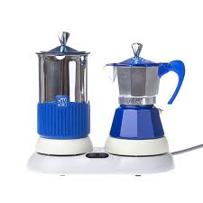 GAT Gatpuccino 4tz Electric Moka Pot With A Frother