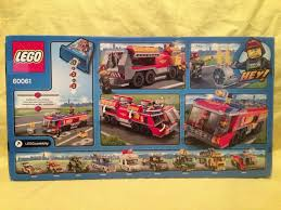 LEGO 60061 AIRPORT FIRE TRUCK - NEW - SEALED BOX - EXCELLENT ...