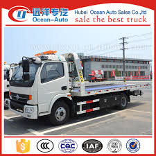 Dongfeng New Rhd 4ton Flatbed Tow Truck For Sale - Buy Flatbed Tow ...
