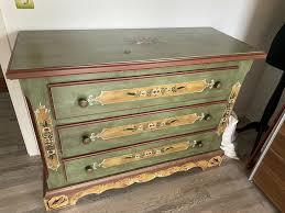 voglauer anno 1800 altgrün kommode
