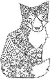 To Print This Free Coloring Page Adult Fox Click On