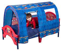 Lighting Mcqueen Toddler Bed by Delta Children Disney Pixar Cars Tent Toddler Bed Baby Toddler