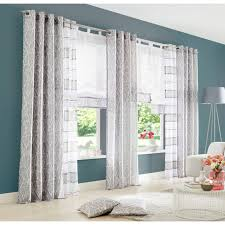 my home vorhang cosa gardine fertiggardine halbtransparent