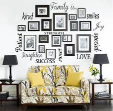 decorative words for walls family is vinyl lettering words wall quote sticky decals