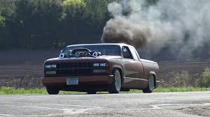 100 Diesel Half Ton Truck Detroit Custom Twin Turbos Thats Rollin Coal In A Chopped
