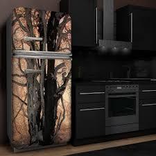 front folie kühlschrank aufkleber möbel folie sticker folie