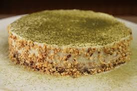 matcha cake no bake kuchen ohne zucker glutenfrei