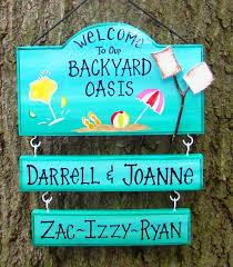 Welcome To Our Backyard Oasis Or Patio Or Camp Sign With Your Name ... Canvas Backyard And Signs Pics On Remarkable Custom Outdoor Personalized Patio Goods Pool Oasis Sign Yard Beach Summer Pictures Garden Wooden Signage Pallet Plate Jimbo Le Simspon For Oldham Athletics Images Fabulous Bar Grill Proudly Serving Whatever Welcome To Our Paradise Designs Hand Painted 25 Unique Signs Ideas On Pinterest Swimming Pool Colorful Made Wood Ab Chalkdesigns Photo With Mesmerizing Rules