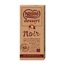 chocolat noir dessert nestlé 205g simply market