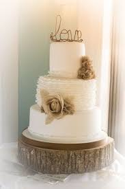 Burlap Lace Cake Ideas And Inspirations Rustic Wedding
