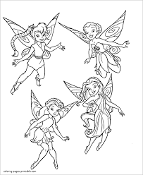 Free Printable Flawless Fairies Coloring Page For You