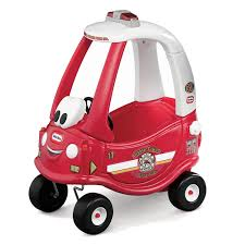 100 Fire Truck Cozy Coupe Ride Rescue Little Tikes