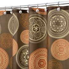 Teal And Brown Curtains Walmart by Curtains Coral And Teal Shower Curtain Walmart Shower Curtain
