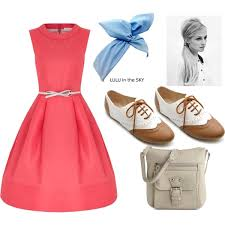 A Fashion Look From April 2013 Featuring Pink Red Dress Shoes And Mini Crossbody