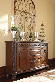 Dining Room Server With North Shore Dark Brown Top Drawer Furniture