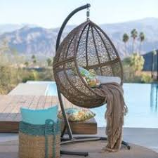 Knotted Melati Hanging Chair Natural Motif by Hanging Egg Chair Outdoor Rattan Wicker White идеи для сада