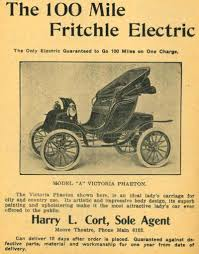 a brief history of electric cars the most popular car of 1900