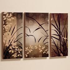 Piece Mirror Wall Decor Set O Dazzling Canvas 3