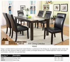 The Mill Valley Collection Dining Set 5108 84 Weathered Wash Finish