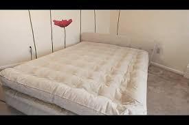 aerobedâ comfort anywhere 18 air mattress with headboard design