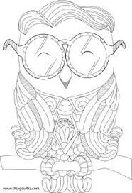 Shy Owl Is A Free Page For Coloring Subscribe To Our Blog Be Notified