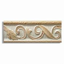 china listello border tile for wall decorations made of glazed