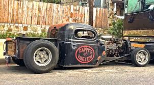 Pappy's Rat Rod Pickup On S. Congress Ave | ATX Car Pictures | Real ...