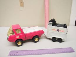Vintage Tin Toy Pink Tonka Truck W/ Trailer & Two Plastic Horses Tonka Toys Museum Home Facebook Vintage 1970s Tonka Barbie Pink Jeep Bronco Truck Metal Plastic Kustom Trucks Make Best Image Of Vrimageco Pressed Steel Pickup 499 Pclick Ukmumstv On Twitter Happy Winitwednesday Rtflw For Your Chance Jeep Wrangler Rcues Pink Camper Van With Tow Hook Youtube Vintage 1960s Toy Surrey Elvis Awesome Pickup Camper And 50 Similar Items 41 Listings Beach Car