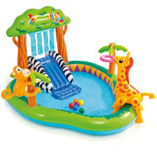 Inflatable Bath For Toddlers by Intex Inflatable Sunset Glow Colorful Kiddie Pool Walmart Com