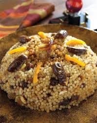 moroccan sweet couscous with mixed dried fruits reformjudaism org