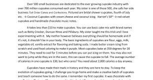 Crazy For Cupcakes Full Speech