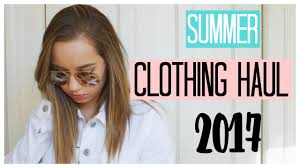SUMMER CLOTHING HAUL 2017 Urban Outfitters Free People Topshop Sephora