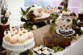 I Am Going To Use A Tree Stump Like That For My Cake But Im Not Having Dessert Table Dad Is Make Me The