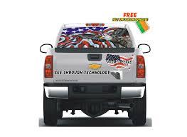 100 Rear Window Graphics For Trucks Soaring Eagle Patriotic Graphic Vehicle Car Santas