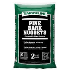 Timberline 2 cu ft Pine Bark Nug s The Home Depot
