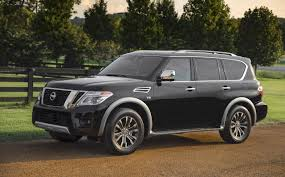 2018 Nissan Armada Platinum With Intelligent Rear View Mirror - The ... 2018 Nissan Armada Platinum Reserve Wheel The Fast Lane Truck With Ielligent Rear View Mirror Palmer Vehicles For Sale 2017 Takes On The Toyota Land Cruiser With A Rebelle Yell Turns Rally Car Kelley Tractor And Pull Fair 2011 Nissan Armada Platinum 4wd Suv For Sale 587999 Adventure Drive First Of Pathfinder Titan 2015 Sv 5n1aa0nc1fn603728 Budget Sales 2012 Used 4dr Sl At Conway Imports Serving