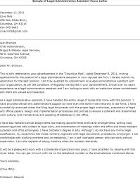 Law Cover Letter Samples