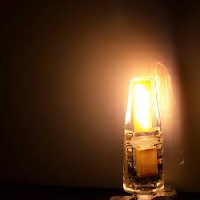 new arrival 12v ac dc cob g4 led bulb 3w 6w cob led g4 l light